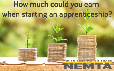 How much could you earn when starting an apprenticeship?