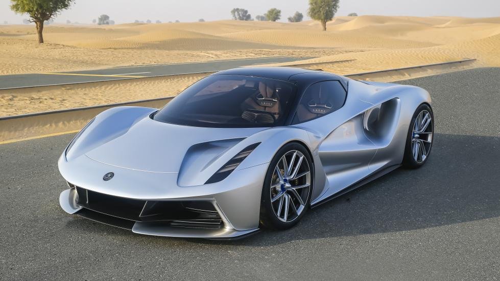 Lotus Evija Car